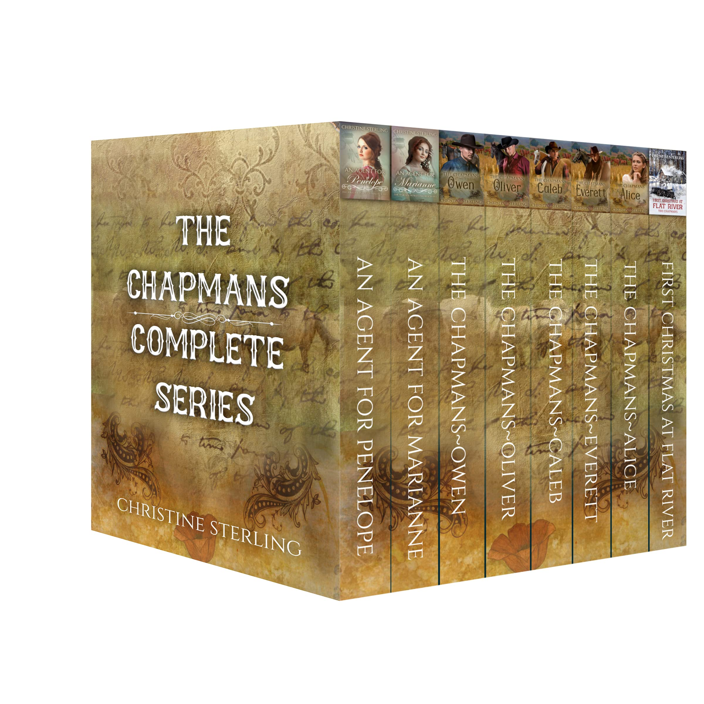 The Chapmans Complete Story Collection: Historical Western Romance Box-set