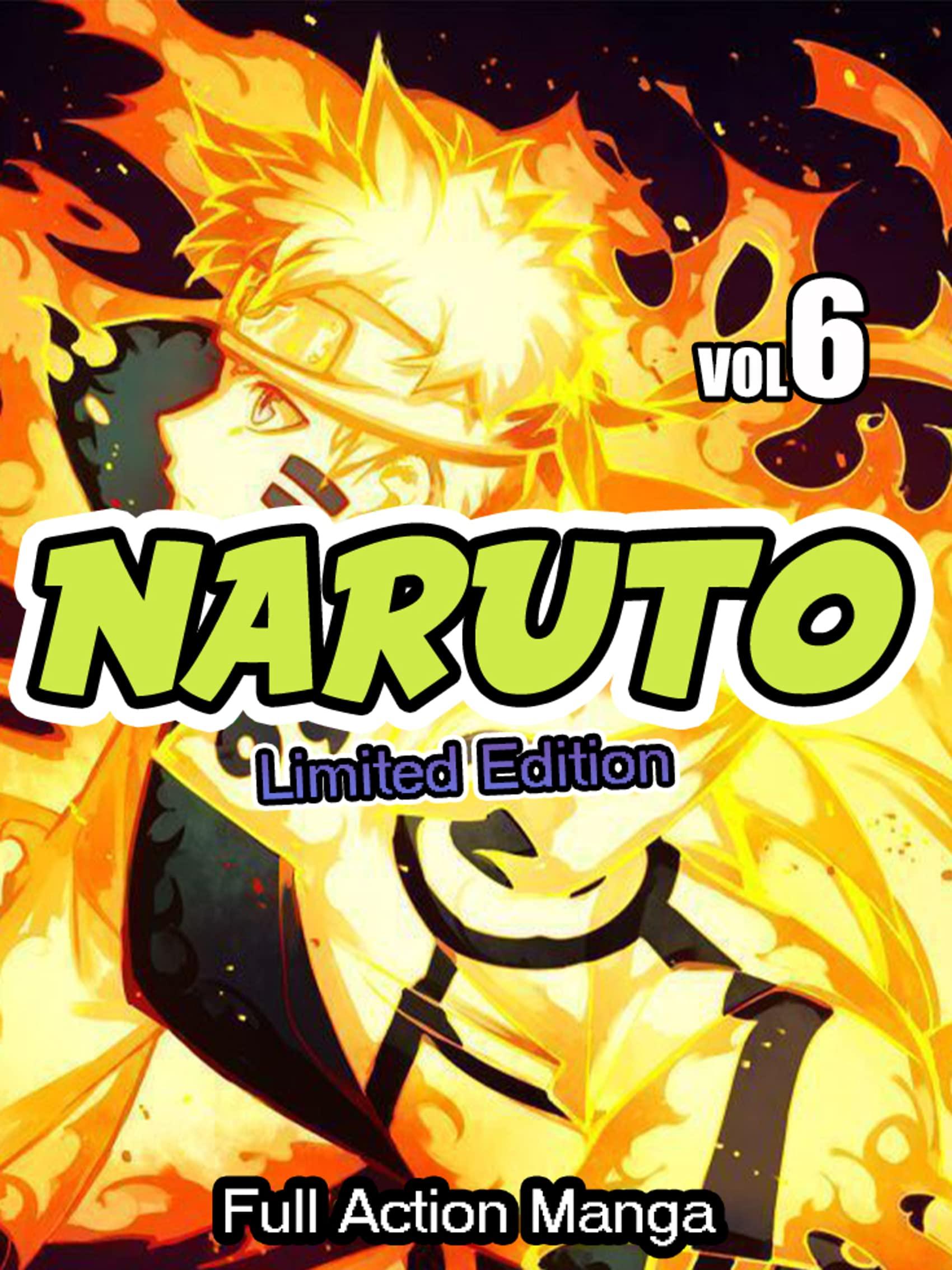 Full Action Manga Naruto Complete Series: Limited Edition Naruto Vol 6