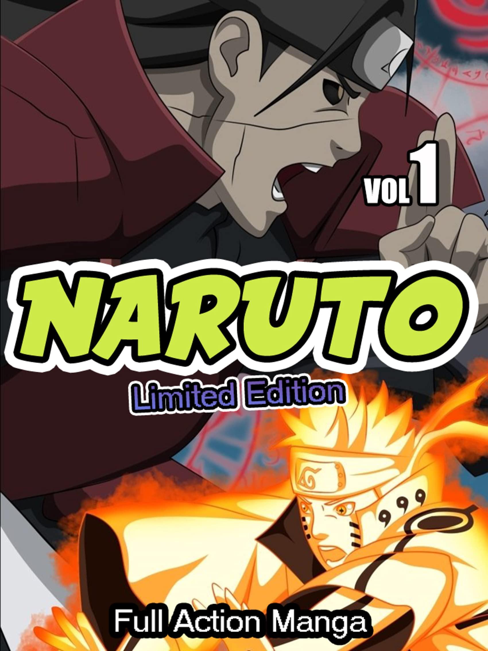Full Action Manga Naruto Complete Series: Limited Edition Naruto Vol 1