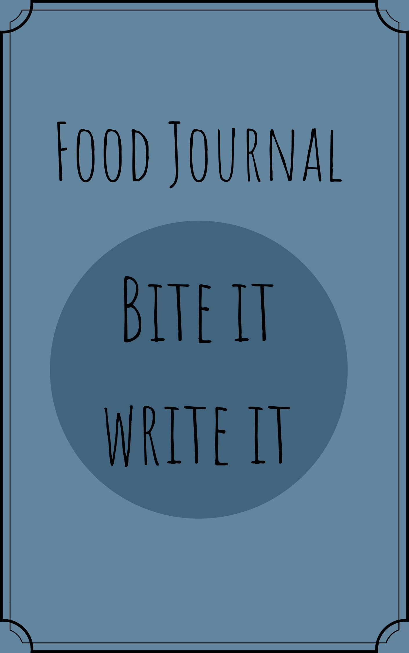 Food Journal: Track your food, 6x9 110 pages plus BMI tracker before and after, Ebook download and print at home: Food Tracker