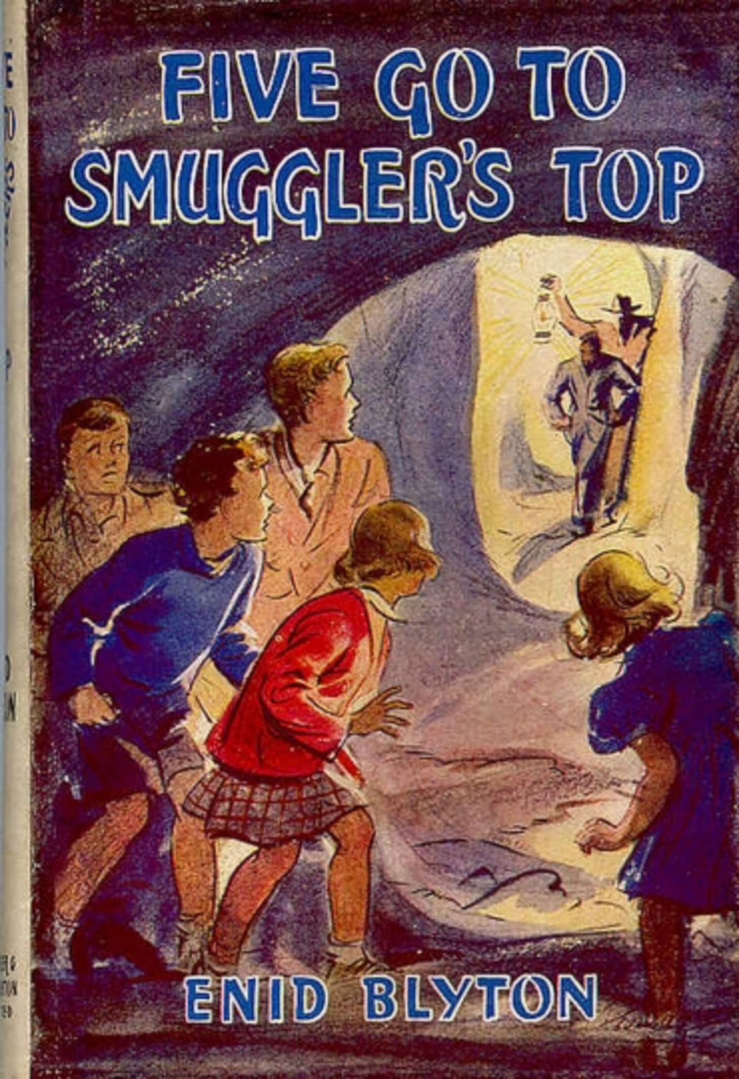 Five Go To Smuggler's Top (Famous Five #4)