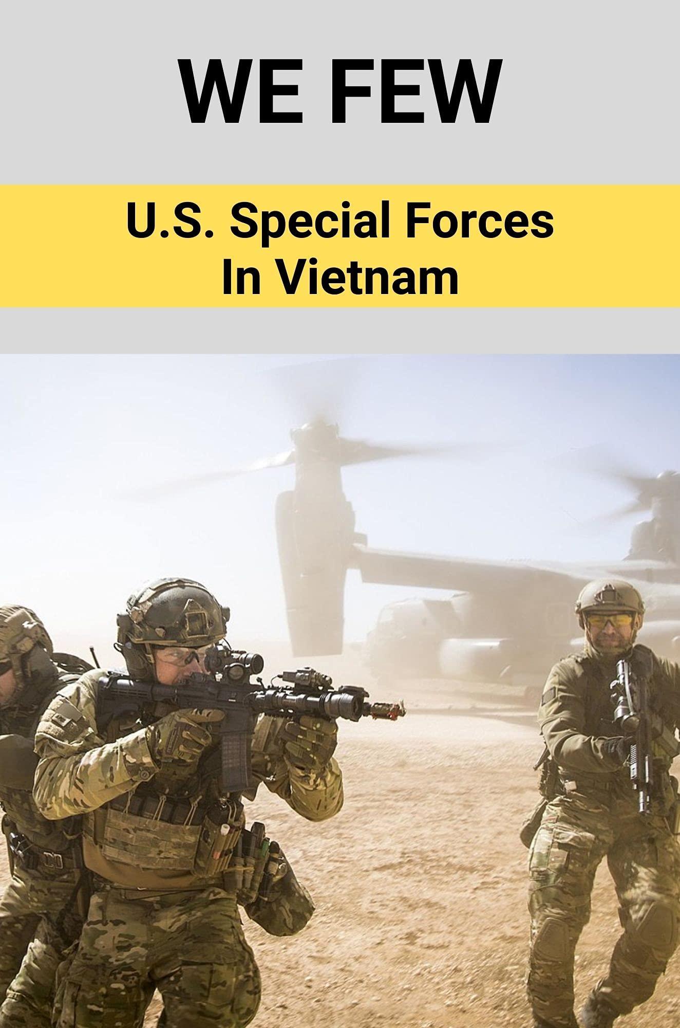 We Few: U.S. Special Forces In Vietnam: Vietnam War Biography Books