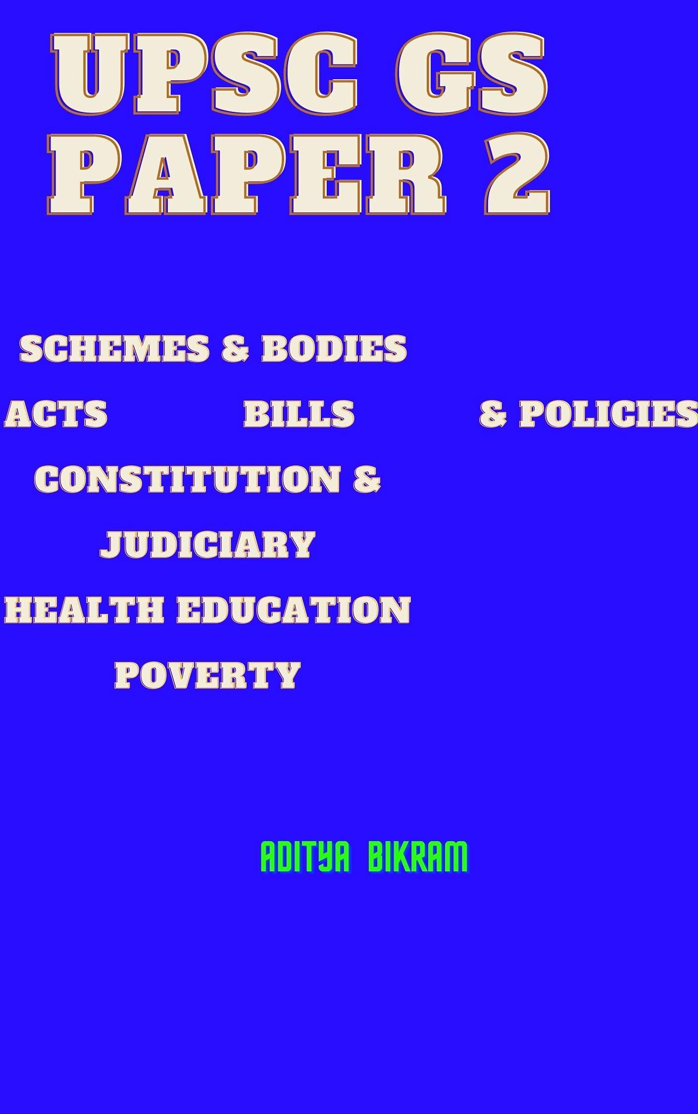 UPSC GS PAPER 2