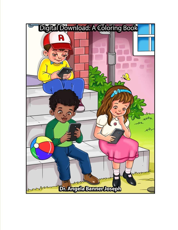 Digital Download: A Coloring Book