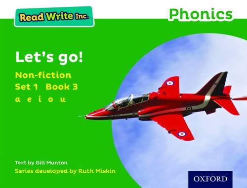 Read Write Inc. Phonics: Green Set 1 Non-fiction 3 Let's Go!