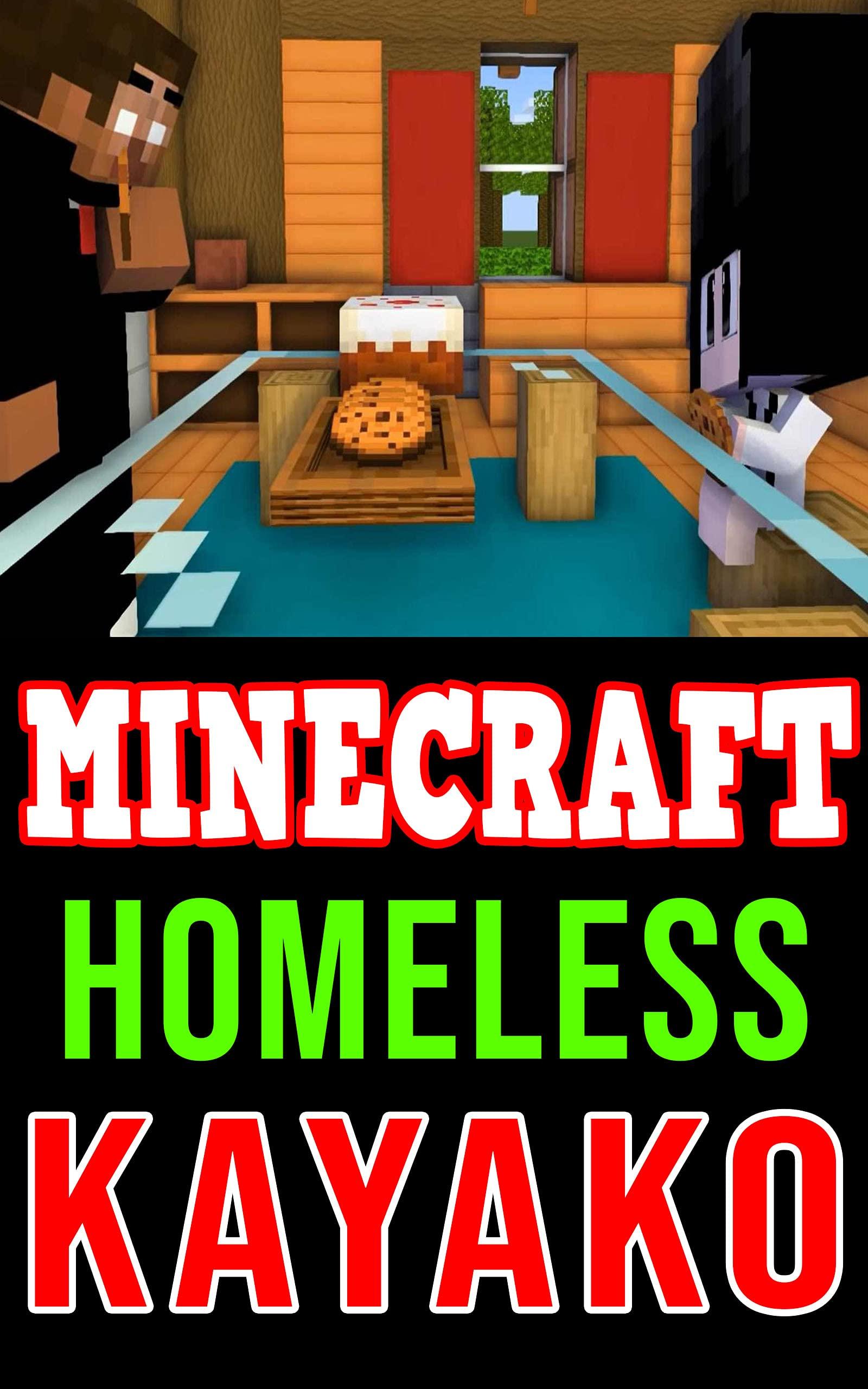 Minecraft Comic Book: Homeless Kayako (Herobrine and Kayako Story 01)