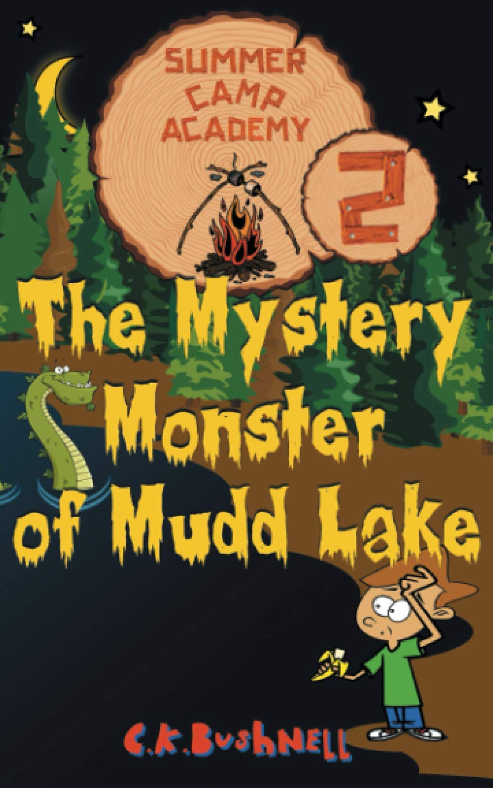 Summer Camp Academy: The Mystery Monster of Mudd Lake