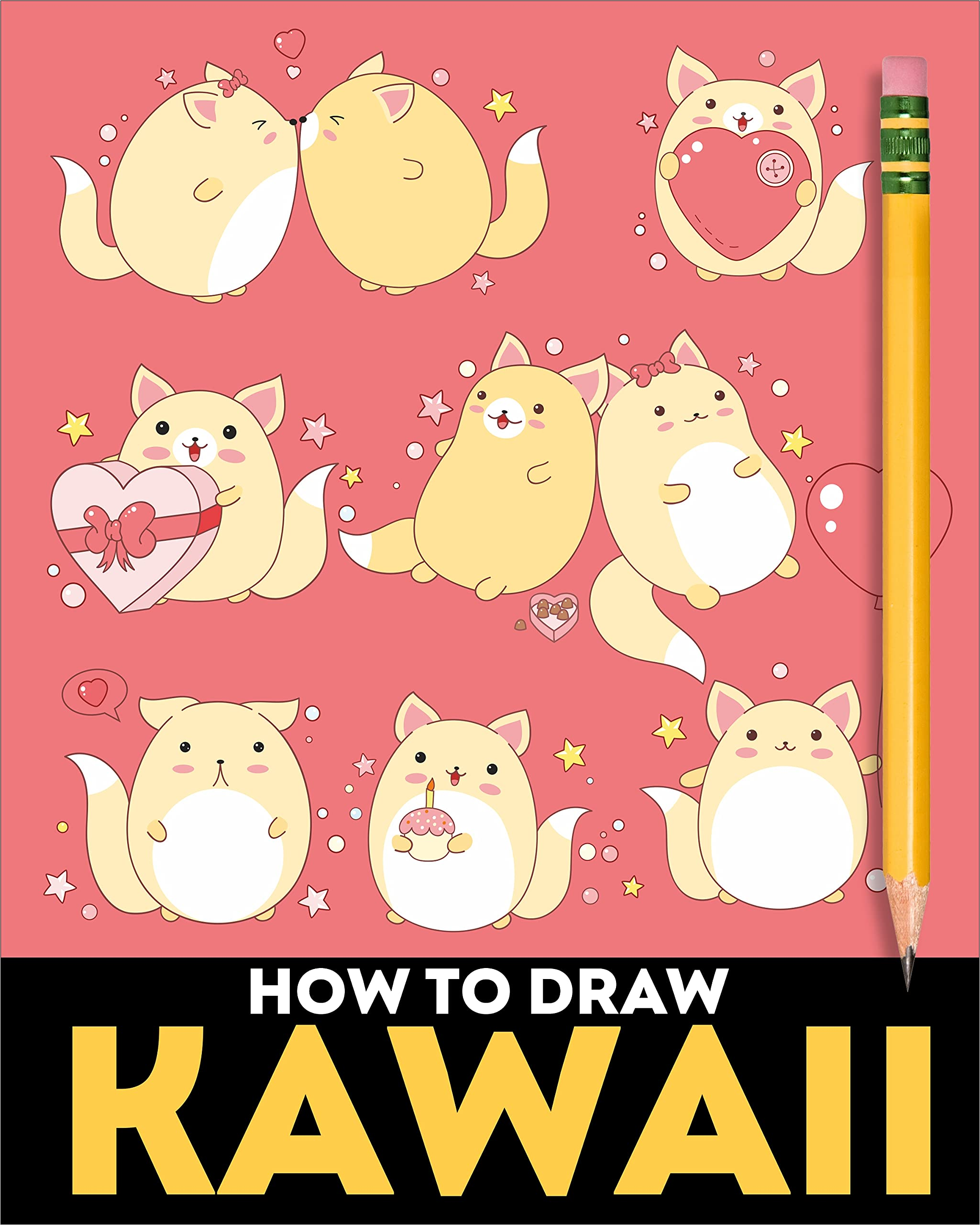 How to Draw Kawaii Doodle Cuties: Kawaii Drawing Book for Kids and Adults | A Simple Step by Step Guide for Kawaii Lovers | How to Draw Cute Stuff Easily | Learn to Draw Cute Artwork Around the World