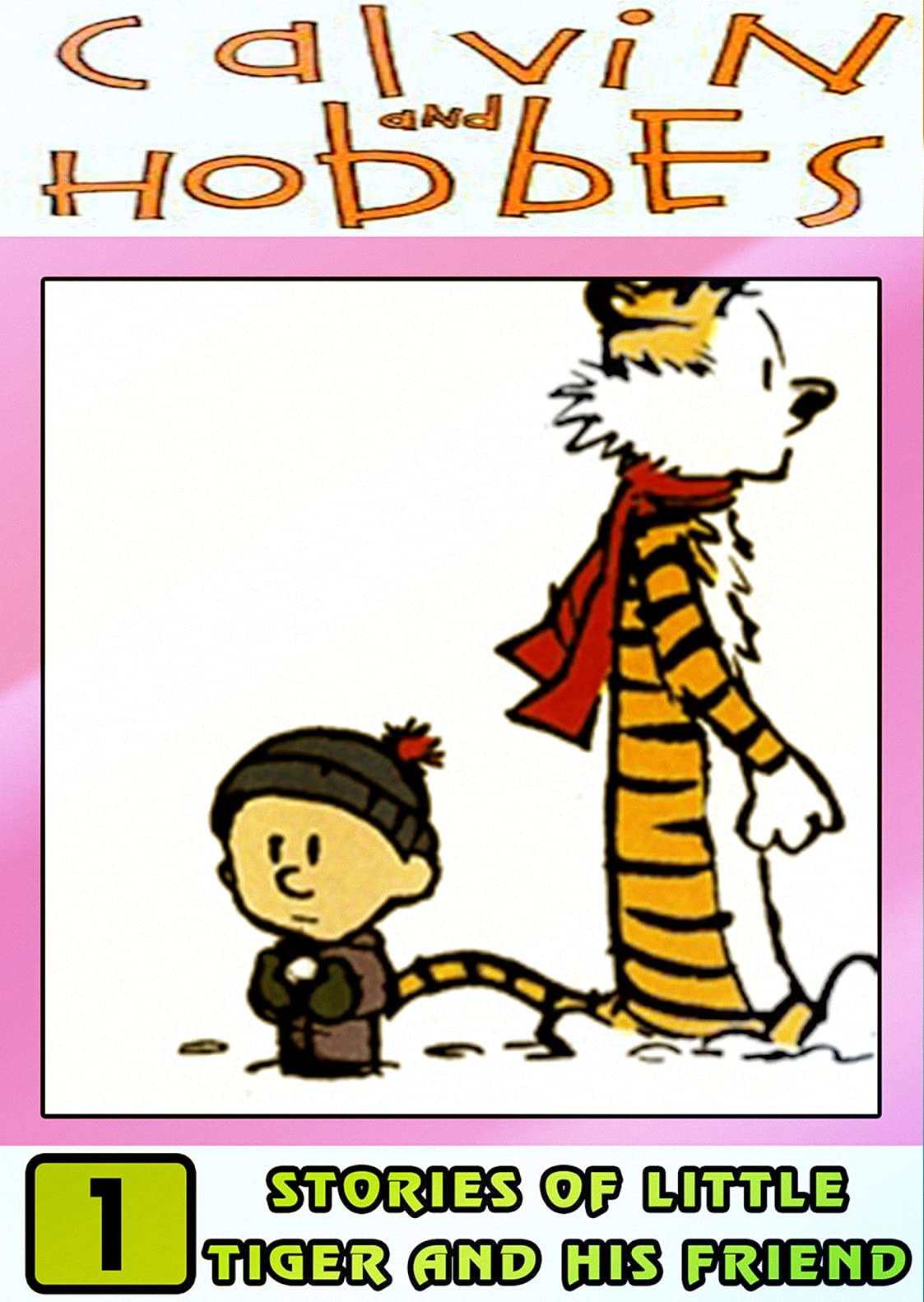Little-Calvin-And-Hobbes Stories: Collection Set 1 - Great Comic And Funny Cartoon Adventures Of Hob-bes Ca-lvin For Children