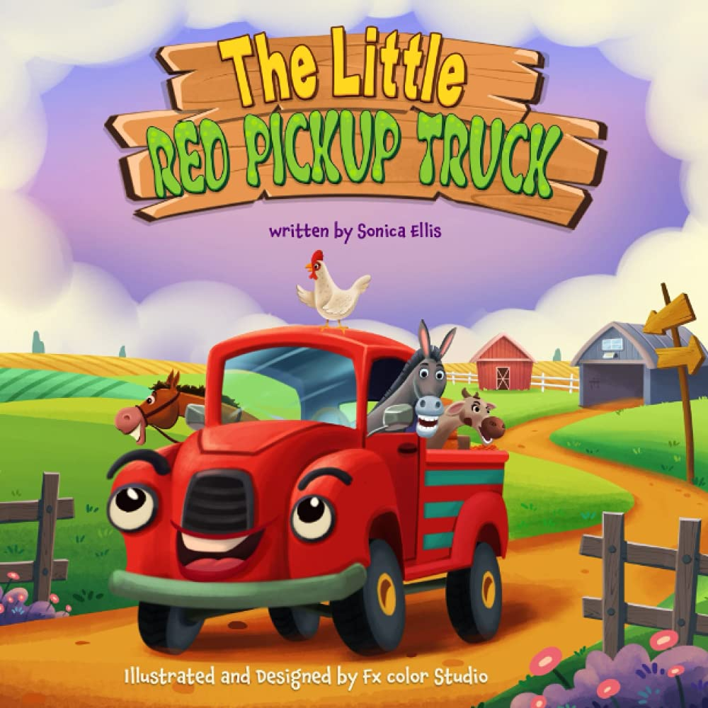 The Little Red Pickup Truck: A children's book about the power of kindness, compassion and empathy.