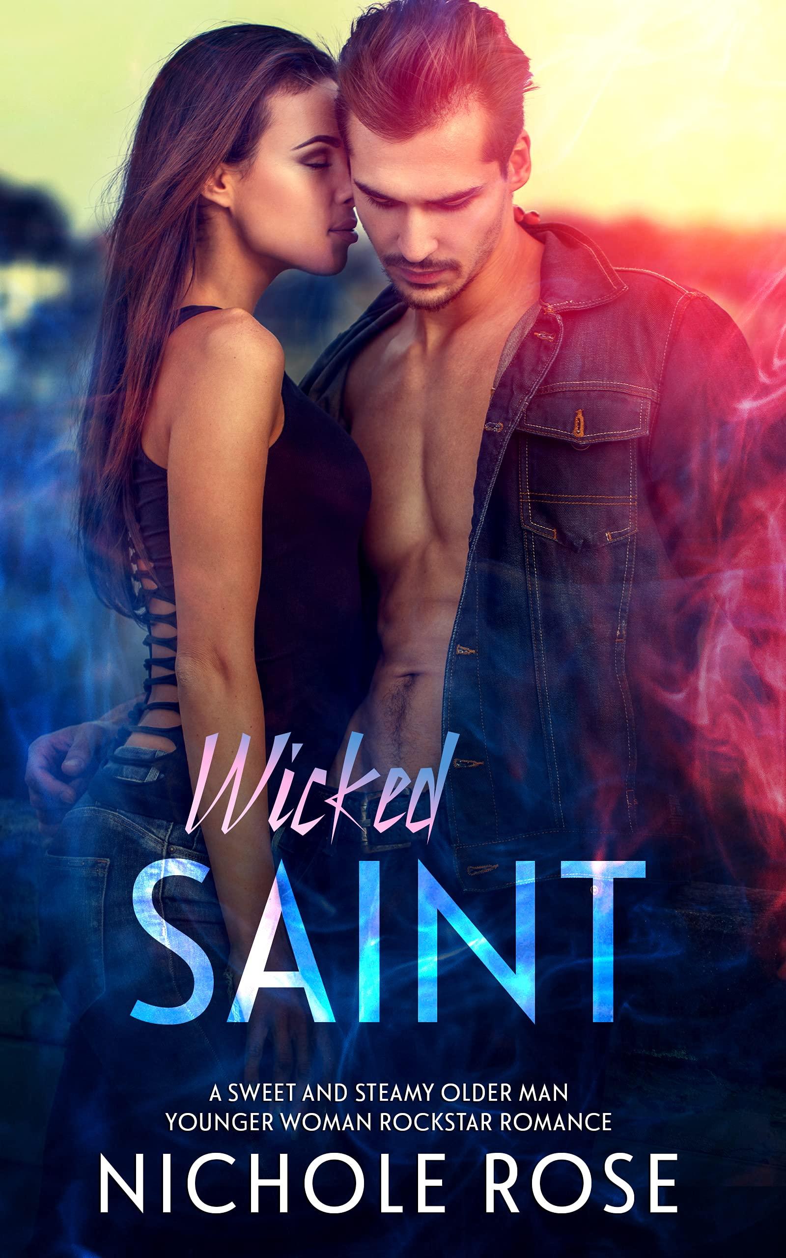 Wicked Saint: An Age-Gap Rockstar Romance