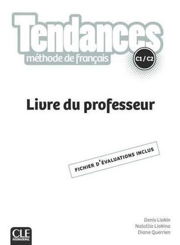 Tendances C1/C2 - Livre du professeur 2ed