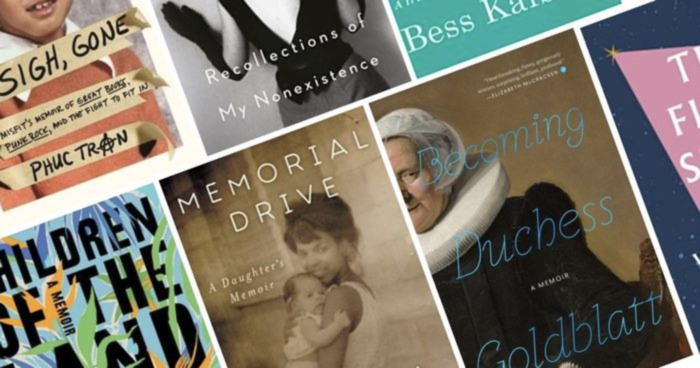36 New Memoirs to Read Now