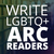 Write LGBTQ+ ARC Readers