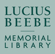 Books on Tap - Lucius Beebe Memorial Library