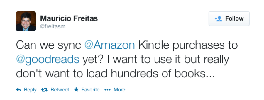 Easily Add Books You Purchased from Amazon to Your Goodreads