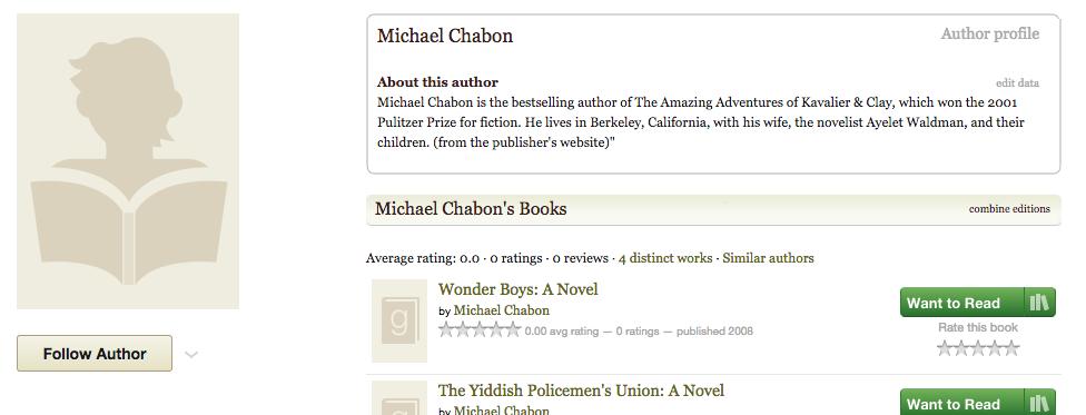 Goodreads blog not updating