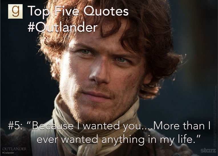 Top Five Outlander Quotes On Goodreads Goodreads News Interviews