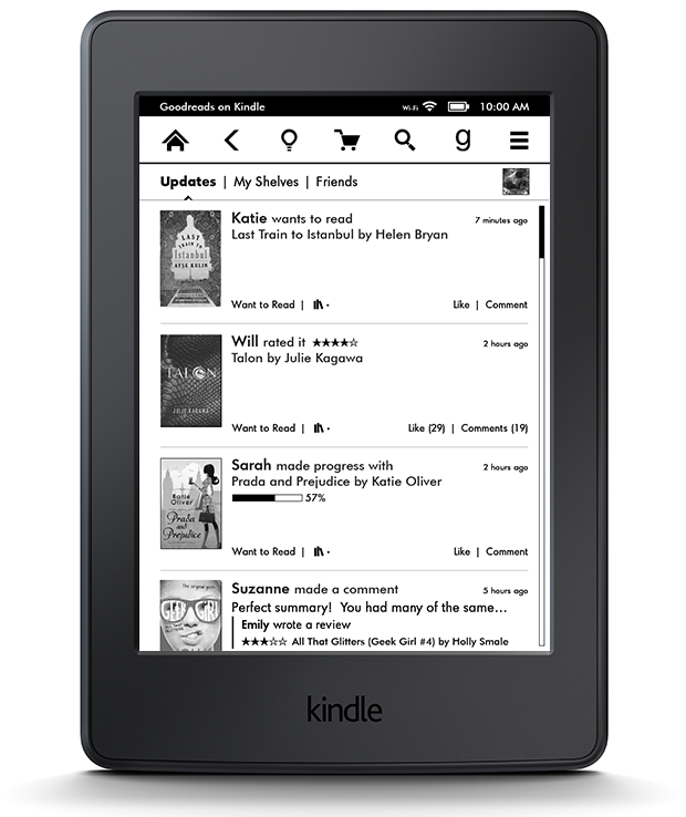 U K  & Ireland: Goodreads on Kindle E-Readers and Fire