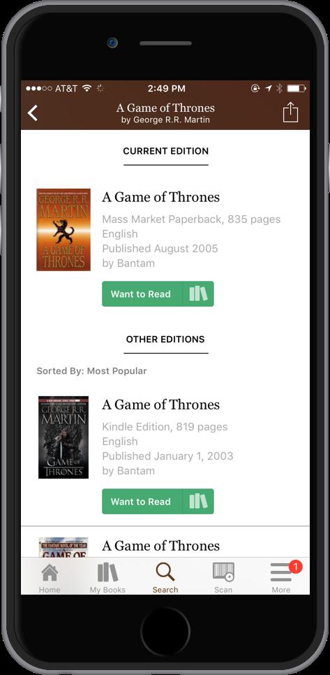 iOS Editions