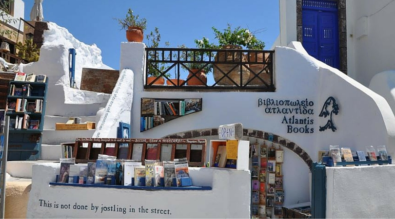 6 Reasons You Need to Visit Atlantis Books in Santorini ...