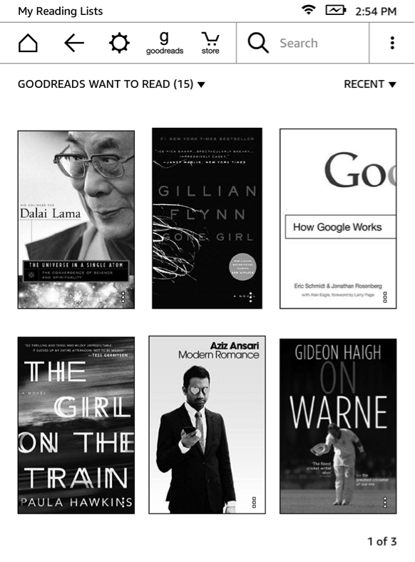 Got a Kindle E-reader? Now Your Goodreads Want to Read List Is on