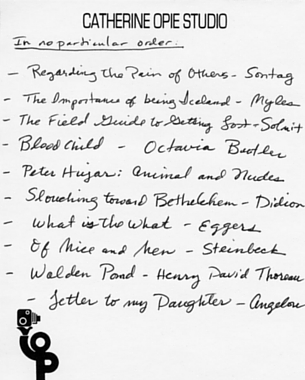 blog post inspiring the artist in everyone writers and  inspiring the artist in everyone writers and artists share handwritten lists of their favorite influential books