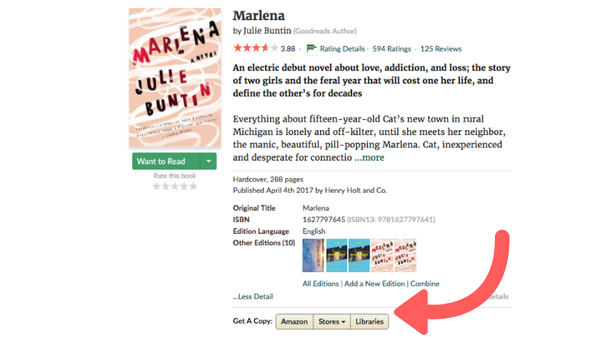 Library Week: The Goodreads Hack to Find a Book at Your