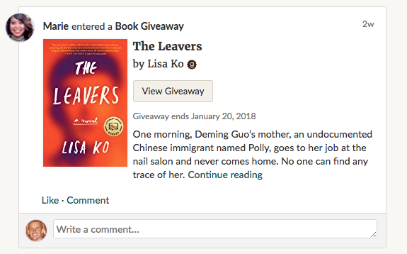 Goodreads Introduces New U.S. Giveaways Program – A More Powerful Book Marketing Tool For Authors and Publishers by Greg Seguin for Goodreads