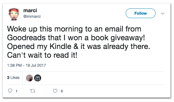 Create author profile goodreads giveaways