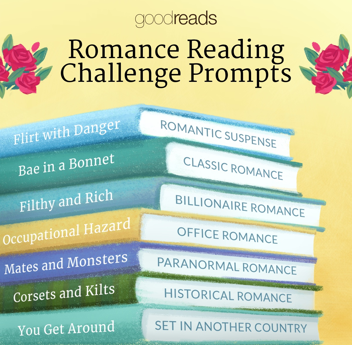 Reading Prompts to Fall in Love With - Goodreads News