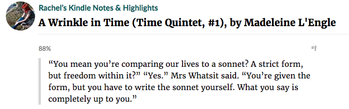 A Wrinkle in Time's Most Highlighted