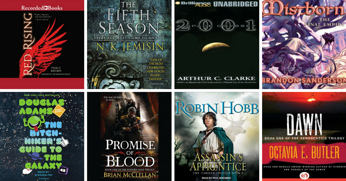 24 sci fi fantasy audiobook series to binge on goodreads news