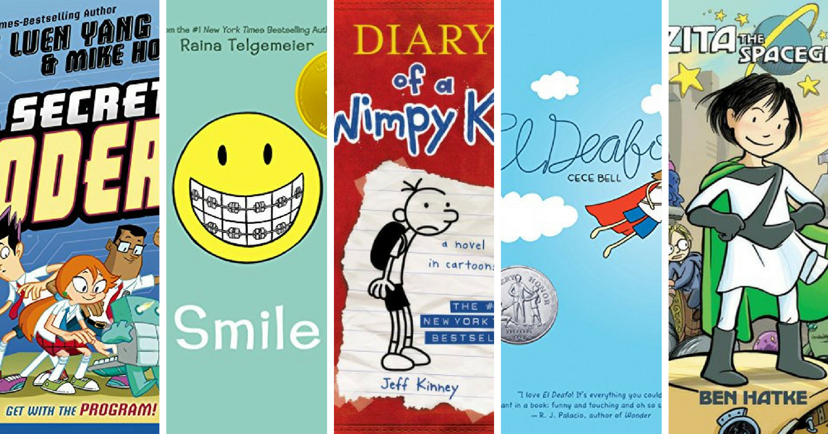 The 21 Most Popular Graphic Novels for Middle Grade Readers