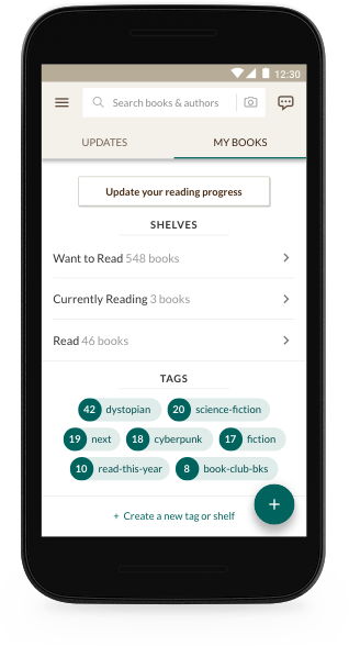 Introducing the All-New, Faster Goodreads Android App