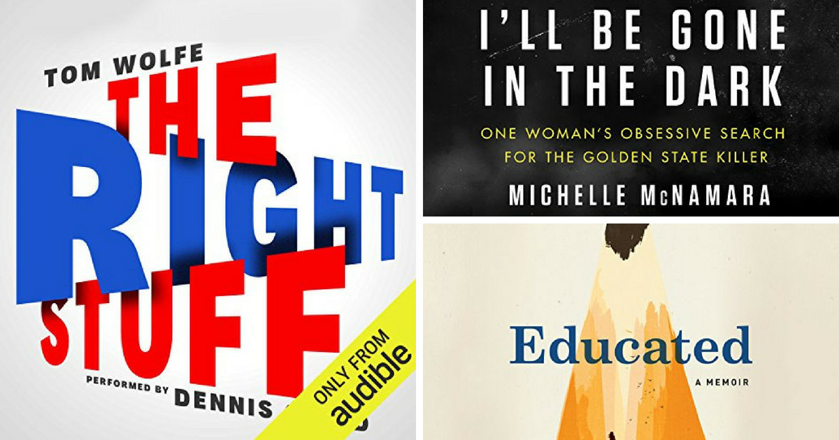 12 Top Nonfiction Audiobook Picks from Audible Editors