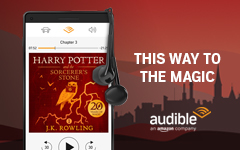Harry Potter is on Audible