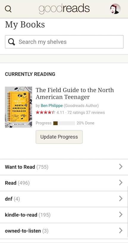 How do I add a book to my challenge from the mobile website?