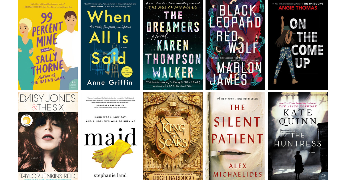the top hit books so far this year news interviews
