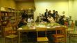 """اولین جلسه کافه کتاب در سال تحصیلی جدید رو با دوستان کتابخونه فرهنگی برگزار کردیم. چون بحث اصلی کتاب """"بادبادک باز"""" بود تعدادی از دوستان اففان هم دعوت شدند تا از دید خودشون کتاب رو نقد کنند. بحث های جالبی مطرح شد که امیدوارم بتونم خلاصه اش رو تو گروه مطرح کنم"""