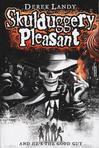Australian cover for Skulduggery Pleasant book 1.