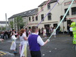 Maypole dancers Holywood Co Down N Ireland