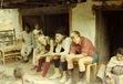 Three trekking companions on Everest Trek