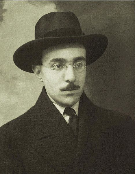 Fernando Pessoa at the age of 24 (approximately)
