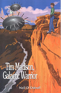 Ordinary thirteen-year-old Tim Madison is the only person who knows about and can stop the ruthless creatures who are working deep inside our planet constructing a massive extermination army.   Tim's ordinary life turns upside down when a strange visitor takes him aboard a magnificent spaceship to train for a future alien war. Returned home with new skills and this terrible knowledge, Tim confides in his two best friends about his experience. Now, they're in a race against time to prevent an all-out attack on Earth. The authorities would never believe their story of course, because they're just kids. Bearing humiliation at school and ramifications at home, they hop a bus and journey to the Grand Canyon where they locate an alien army many thousands of times greater than what Tim had expected. Caught up in escalating danger, Tim and his buds must make a choice. Try to climb back out of the canyon without being seen or take the aliens head on. If only Tim could acquire a weapon and steal one of the alien's fighter ships he might have a chance at victory.   Available at:  http://www.amazon.com/Madison-Galactic-Warrior-Neil-Ostroff/dp/0595301215/ref%3Dsr_1_1?ie=UTF8&qid=1299011258&sr=8-1   Signed copy at: https://www.authorsden.com/buybook.asp?bookid=45171  $0.99 ebook available at: www.smashwords.com/books/view/43615