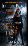 Jeaniene Frost unveiled the new cover for One Grave at a Time (Cat & Bones #6)