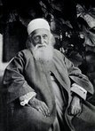 `Abdu'l Bahá (1844-1921) was the son of Bahá'u'llah. He was appointed by Bahá'u'llah as the one authorised interpreter of the Bahá'í teachings and Head of the Bahá'í Faith following Bahá'u'lláh's passing.