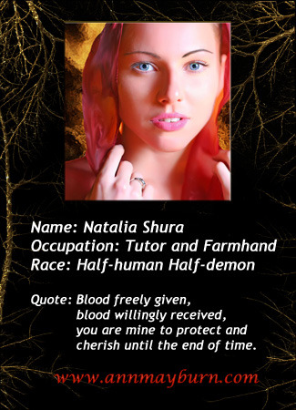 Romance Trading Card for Natalia from 'Daughter of Lust'