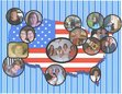 "Thanks to Zorro for putting together this ""map"" of some of our members.