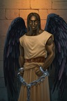 The god of death controls where souls go after death. He acts as border patrol for Hades in The Heroes of Olympus.